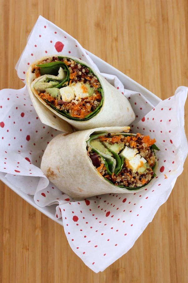 Quinoa-Wrap