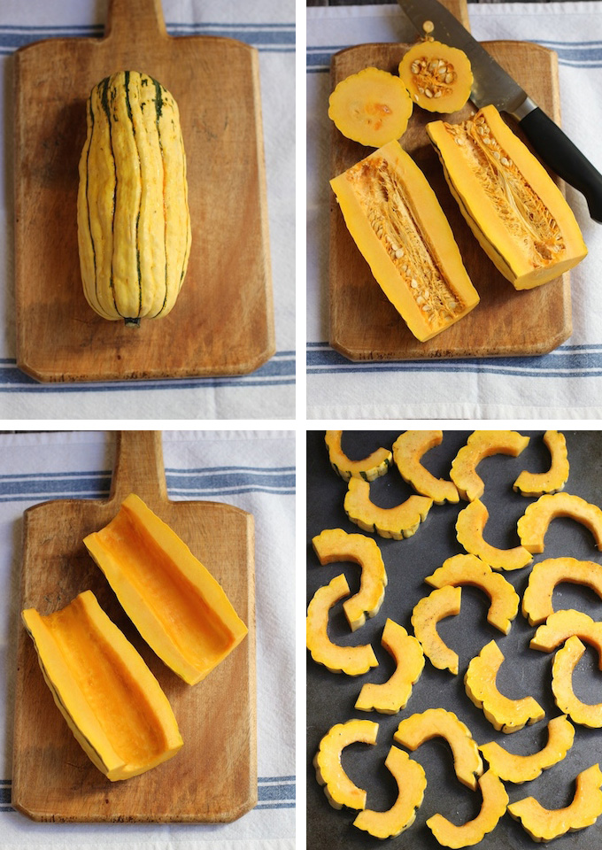 Delicata Squash and Spinach Salad | Green Valley Kitchen