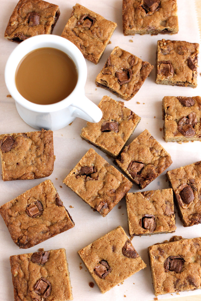 Milky Way Walnut Cookie Bars | Green Valley Kitchen