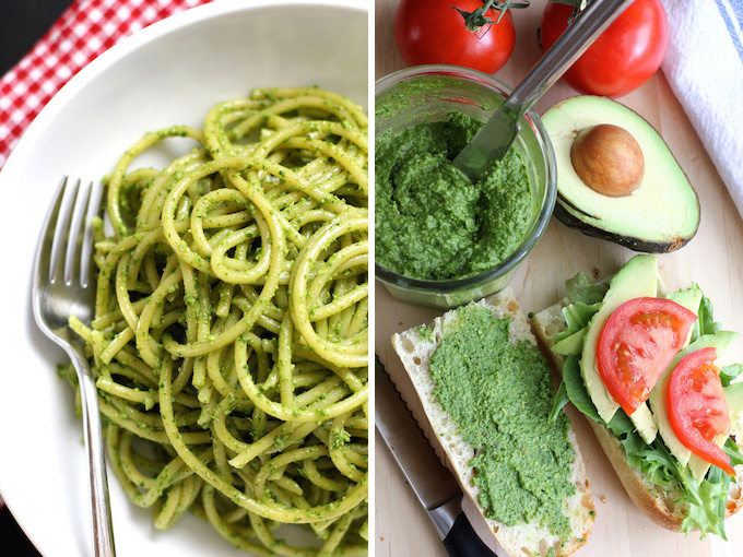 Kale and Walnut Pesto | Green Valley Kitchen