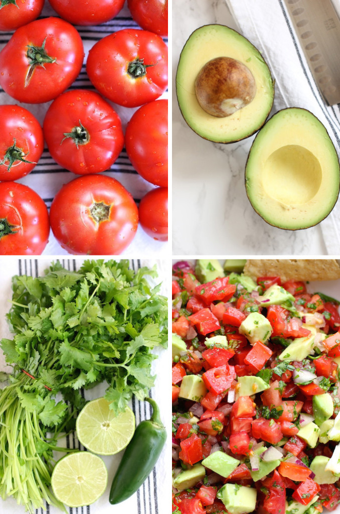 Tomato Avocado Salsa | Green Valley Kitchen