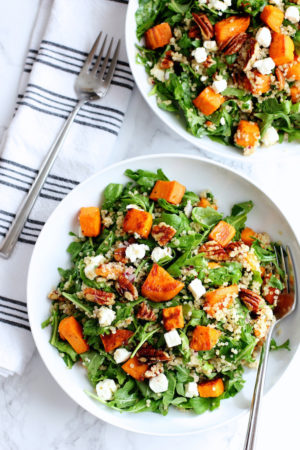 Roasted Sweet Potato and Quinoa Salad | Green Valley Kitchen
