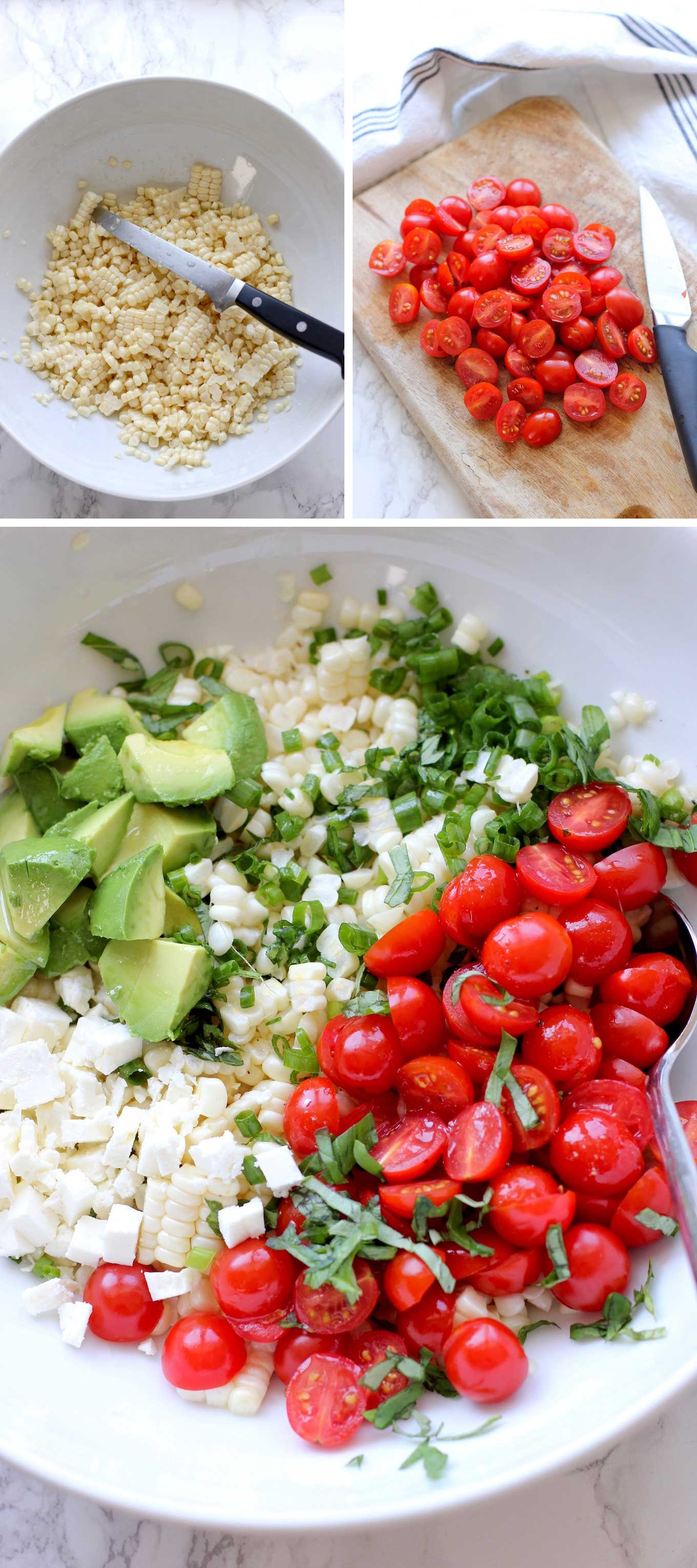 Fresh-Corn-Salad-With-Cherry-Tomatoes-And-Avocado-salad-before-being-tossed